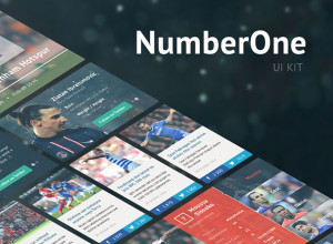 Freebie-Number-One-UI-Kit