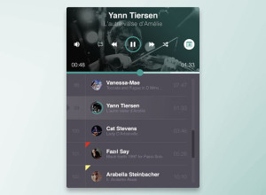 Freebie-PSD-Music-Player