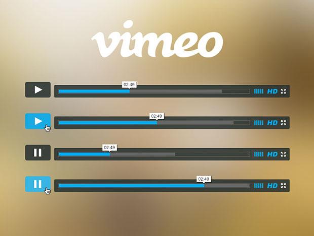 Freebie-Vimeo-Player-PSD