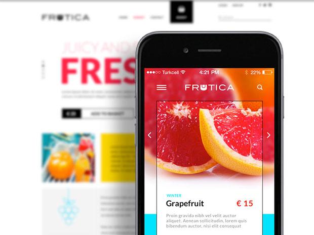 Frutica-E-Commerce-Theme-Concept