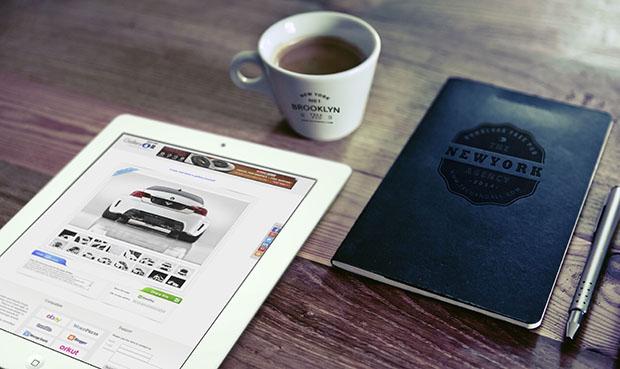 Good-Morning-iPad-Logo-Notebook-mockup