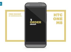 HTC-ONE-M8-Free-Mockup