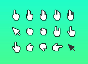 Hand-Cursor-Icon-Sketch-and-Photoshop