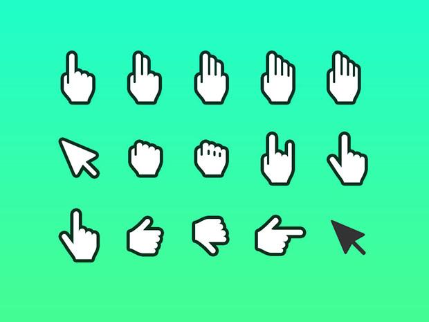Hand-Cursor-Icon-Sketch-and-Photoshop
