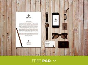 Identity-mockup-PSD