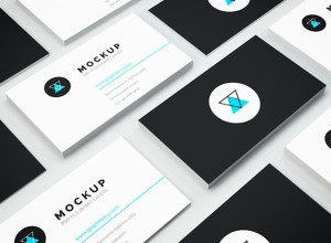 Isometric-Business-Card-PSD-Mockup