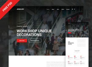 Jewelery-site-PSD-template