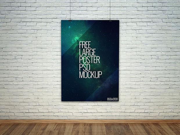 Large-Poster-PSD-Mockup