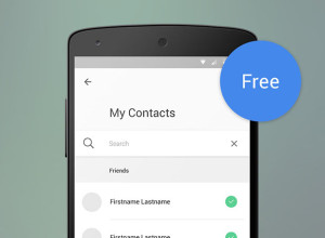 Material-Design-Contact-List-with-Search
