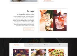 Menu-one-page-psd-freebie