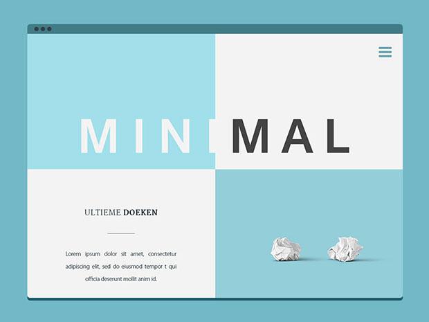 Minimal-Website-Free-PSD