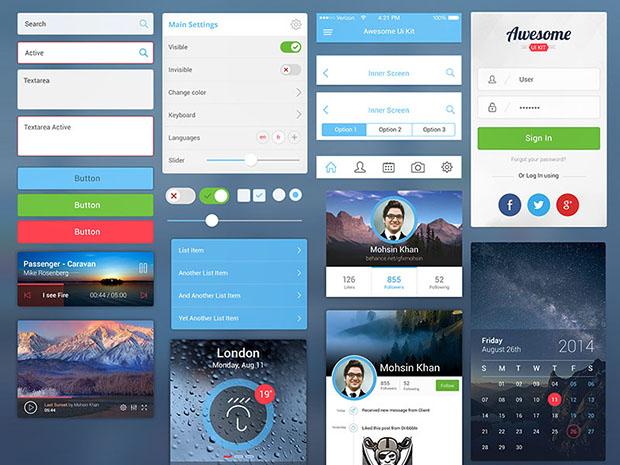 Mobile-Awesome-UI-Kit