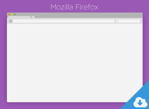 Mozilla-Firefox-PSD-Download