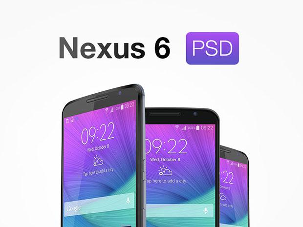 Nexus-6-Free-PSD-MockUp
