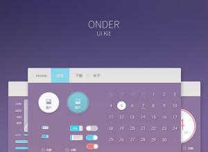 ONDER-UI-Kit-PSD
