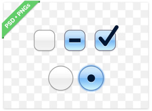 OS X-Checkbox-and-Radiobutton-PSD