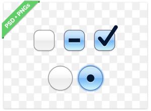 OS X-Checkbox-and-Radiobutton-PSD