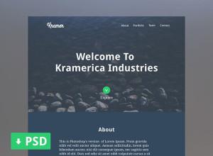 One-Page-Portfolio-PSD-Kramer
