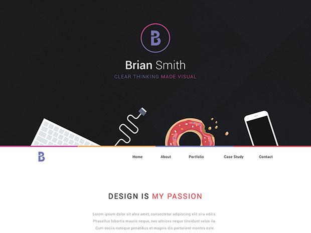 One-Page-Portfolio
