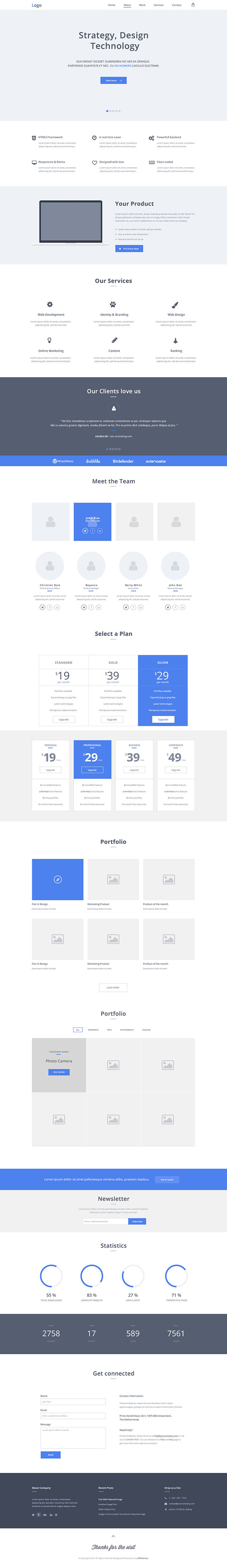 One-page-Wireframe