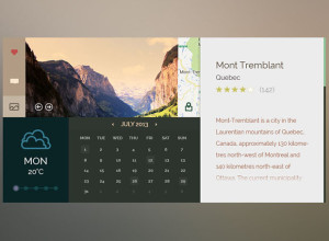 Outdoors-UI-Free-PSD