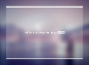 PSD-Minimal-Browser-Template