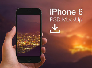 PSD-mockup-of-iPhone-6