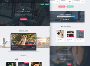 Pakhi-E-commerce-template-Free-PSD