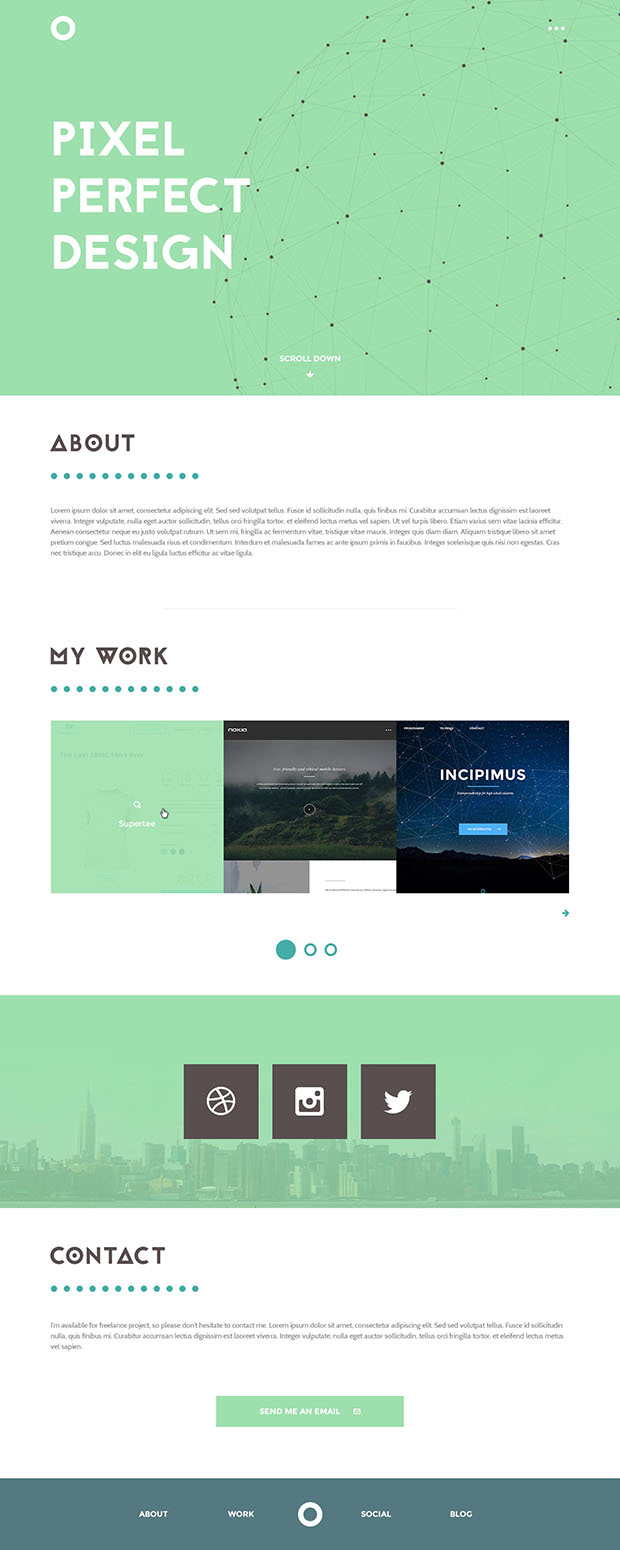 Pixel-perfect-design-Portfolio