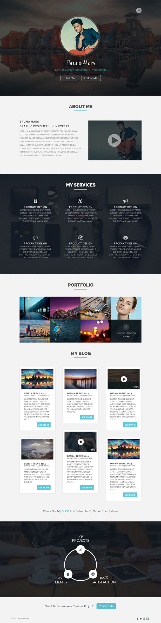 Portfolio-site-Freebie