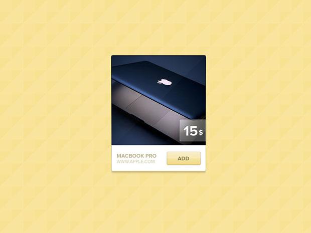Product-Widget-PSD