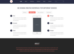 Rave-One-Page-PSD-Template