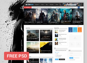 Sevenmag-Free-PSD-Template