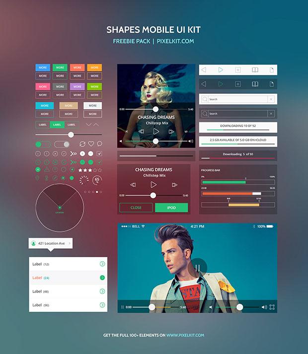 Shapes-Mobile-UI-Kit