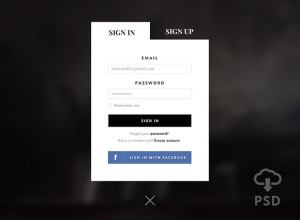 SignUP-Form-Free-PSD