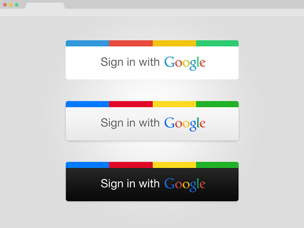 Signin-With-Google-Buttons