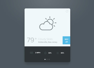 Simple-Weather-Widget