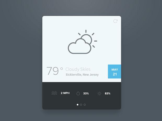 Simple-Weather-Widget