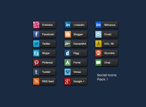 Social-Share-Buttons-Psd-Pack