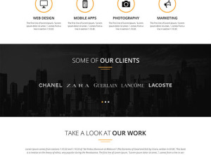 Spirit8-Digital-agency-one-page-template