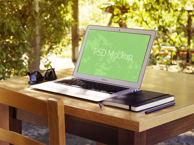 Summer-vibe-Macbook-Air-Mockup