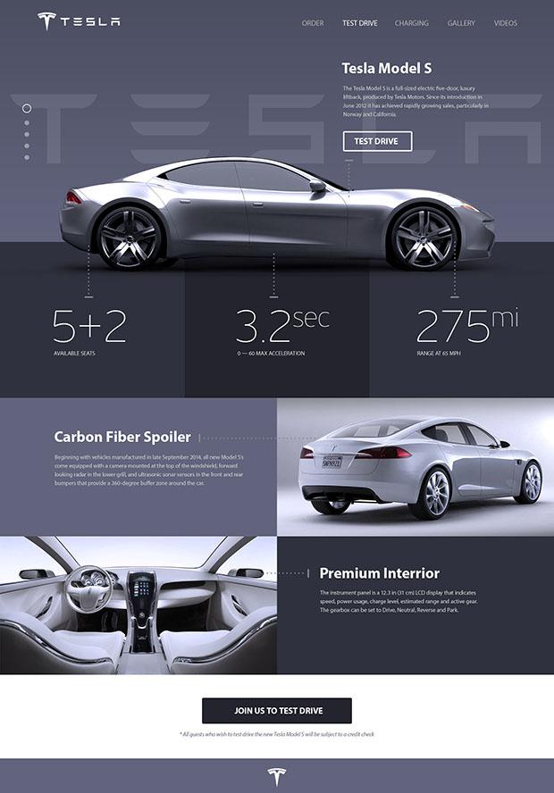 Tesla-Model-S-Promo-site-Concept-PSD-Freebie
