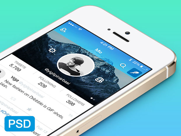 Twitter-App-Redesign-PSD