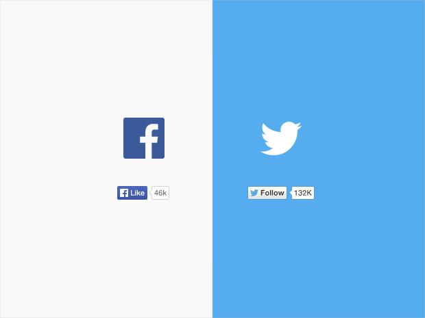 Twitter-&-Facebook-Like-Buttons