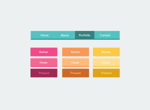 UI-Flat-Buttons-Download