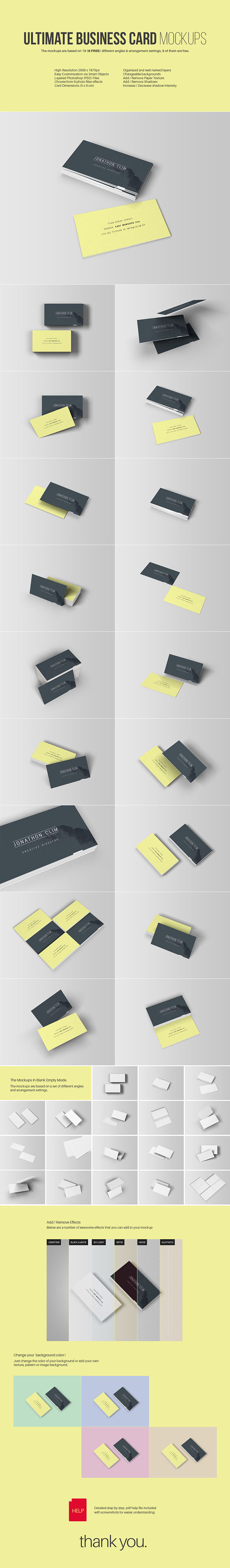 Ultimate-Business-Card-Mockups