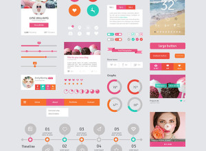 User-Interface-Elements-Flat-Design