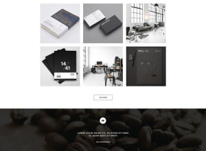 Vintage-Single-Page-PSD-Theme