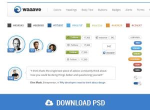 Waaave-Bootstrap