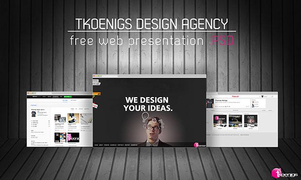 Web-presentation-PSD-Freebie